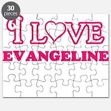 I Love Evangeline Puzzle