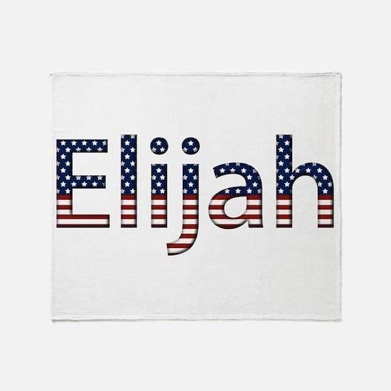 Elijah Stars and Stripes Throw Blanket