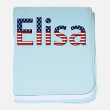 Elisa Stars and Stripes baby blanket