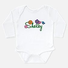 Shelby Flowers Onesie Romper Suit