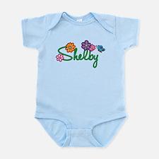 Shelby Flowers Onesie