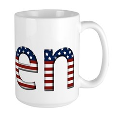 Ellen Stars and Stripes Mug