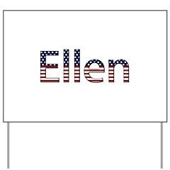 Ellen Stars and Stripes Yard Sign