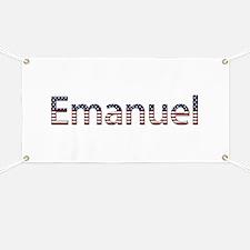 Emanuel Stars and Stripes Banner
