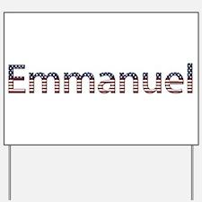 Emmanuel Stars and Stripes Yard Sign