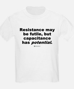 Resistance may be futile -  Kids T-Shirt