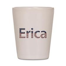 Erica Stars and Stripes Shot Glass