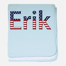 Erik Stars and Stripes baby blanket