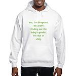 Pregnant - Suprise - July Hooded Sweatshirt