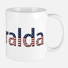 Esmeralda Stars and Stripes Small Small Mug