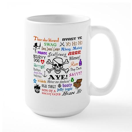 Pirates Large Mug