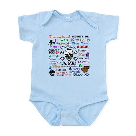 Pirates Infant Bodysuit