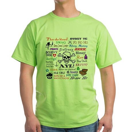 Pirates Green T-Shirt