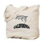 California Dolphin Souvenir Tote Bag