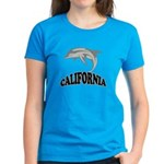 California Dolphin Souvenir Women's Dark T-Shirt