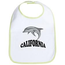 California Dolphin Souvenir Bib