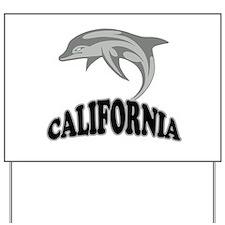 California Dolphin Souvenir Yard Sign