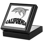 California Dolphin Souvenir Keepsake Box