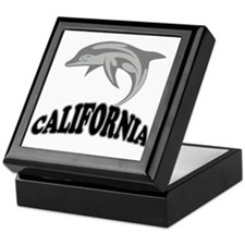 California Dolphin Souvenir Keepsake Box