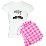 California Dolphin Souvenir Women's Light Pajamas