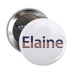 Elaine Stars and Stripes Button