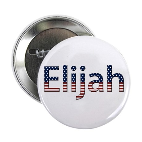 Elijah Stars and Stripes Button