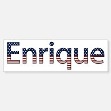 Enrique Stars and Stripes Bumper Bumper Stickers