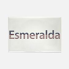 Esmeralda Stars and Stripes Rectangle Magnet
