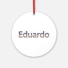 Eduardo Stars and Stripes Round Ornament
