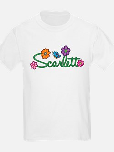 Scarlett Flowers T-Shirt