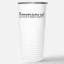 Emmanuel Stars and Stripes Travel Mug