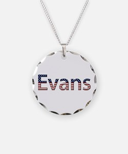 Evans Stars and Stripes Necklace