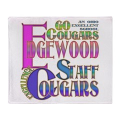 EDGEWOOD STAFF Throw Blanket