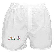 Savannah Flowers Boxer Shorts