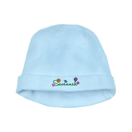 Savannah Flowers baby hat