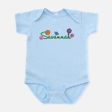 Savannah Flowers Infant Bodysuit