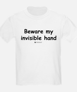 Invisible Hand -  Kids T-Shirt