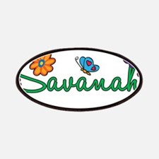 Savanah Flowers Patches