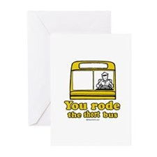 You rode the short bus - Greeting Cards (Package