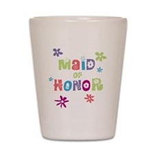 Happy Maid of Honor Shot Glass