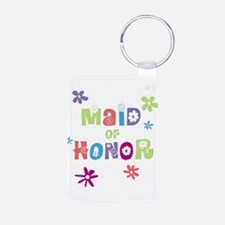 Happy Maid of Honor Keychains