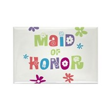 Happy Maid of Honor Rectangle Magnet