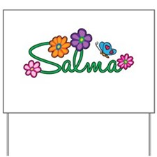 Salma Flowers Yard Sign