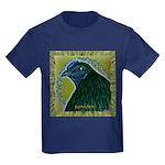 Framed Sumatra Rooster Kids Dark T-Shirt