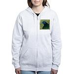 Framed Sumatra Rooster Women's Zip Hoodie