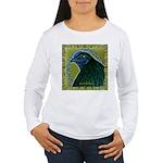 Framed Sumatra Rooster Women's Long Sleeve T-Shirt