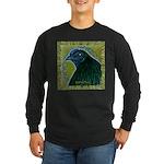 Framed Sumatra Rooster Long Sleeve Dark T-Shirt