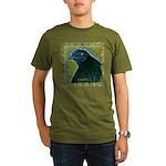 Framed Sumatra Rooster Organic Men's T-Shirt (dark