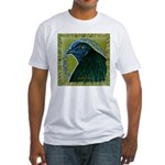 Framed Sumatra Rooster Fitted T-Shirt