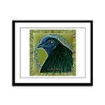 Framed Sumatra Rooster Framed Panel Print